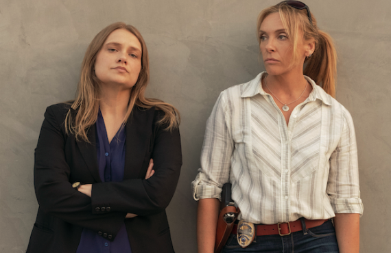 Merritt Wever as Duvall and Toni Collette as Rasmussen forge a solid bond as detectives in Unbelievable. (Netflix)