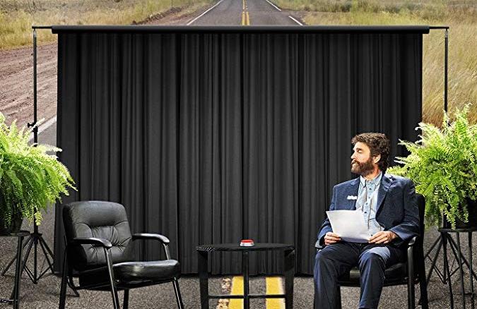 Zach Galifianakis stars in Between Two Ferns: The Movie (Netflix)