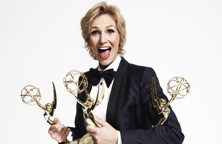Jane Lynch took home Emmy number five for her guest-starring role in The Marvelous Mrs Maisel last weekend at the 2019 Creative Arts Emmy Awards (Fox)