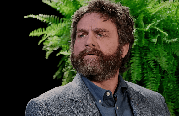 Zach Galifianakis in Between Two Ferns. (Netflix)