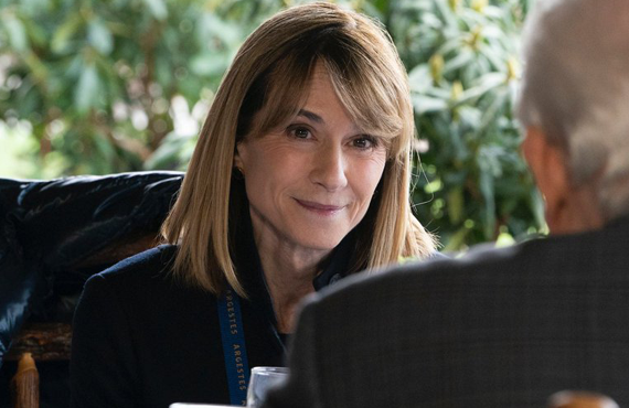 Holly Hunter as Rhea Jarrell in Succession (HBO)
