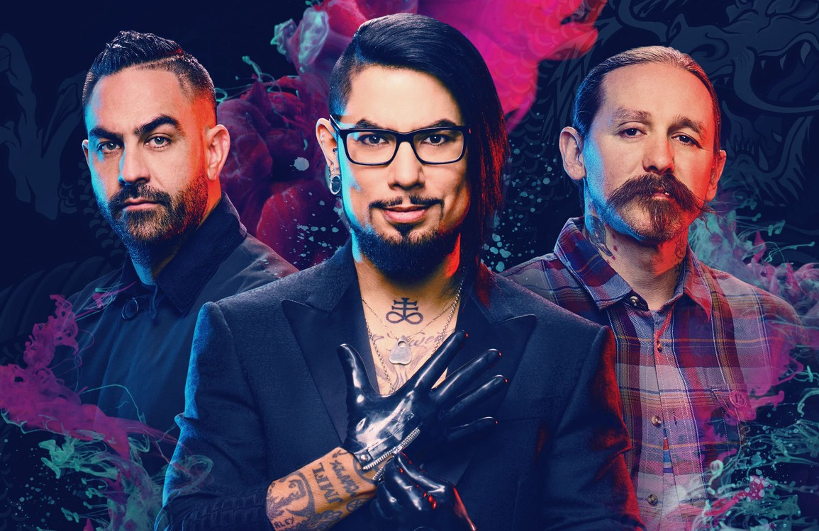 Ink Master's Chris Nunez, Dave Navarro and Oliver Peck. (Paramount Network)
