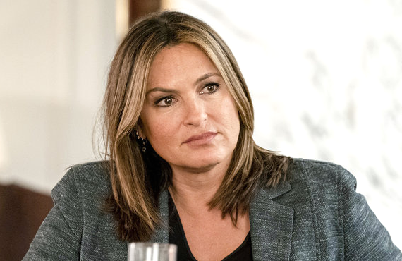 Mariska Hargitay as Lieutenant Olivia Benson in a scene from the season premiere of Law & Order: Special Victims Unit (NBC)