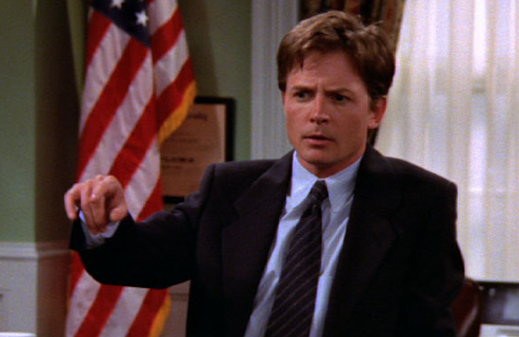 Michael J. Fox in Spin City (ABC)