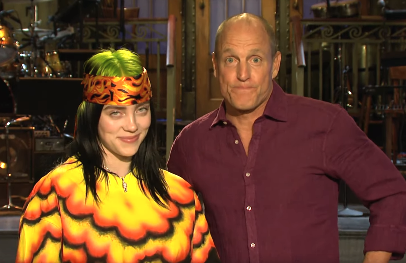 Saturday Night Live returns with host Woody Harrelson with musical guest Billie Eilish (NBC)