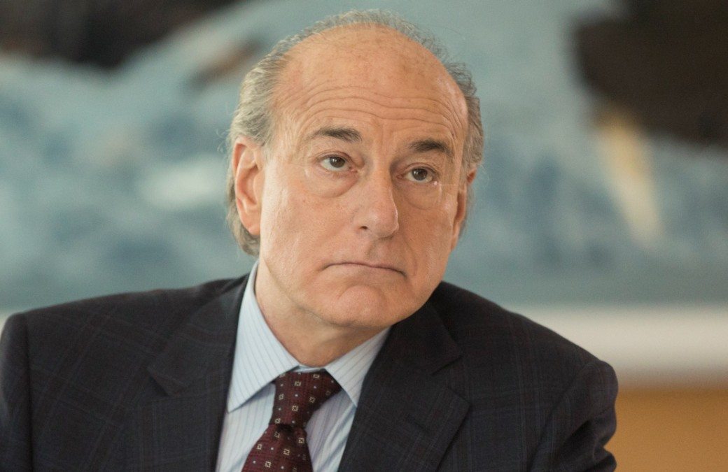 Peter Friedman as Frank Vernon in Succession (Photo: HBO)