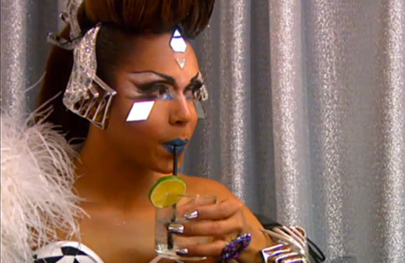 Mariah Paris Balenciaiga on Untucked (World of Wonder/VH1)