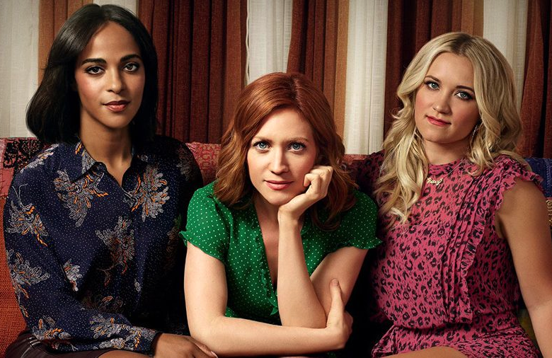 Megalyn Echikunwoke, Brittany Snow, and Emily Osment star in Almost Family (Fox)