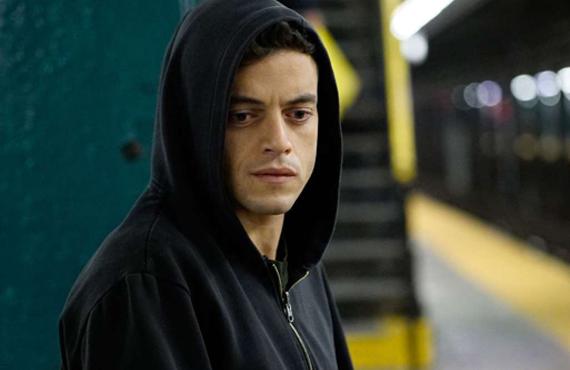 Rami Malek stars in Mr. Robot (USA)