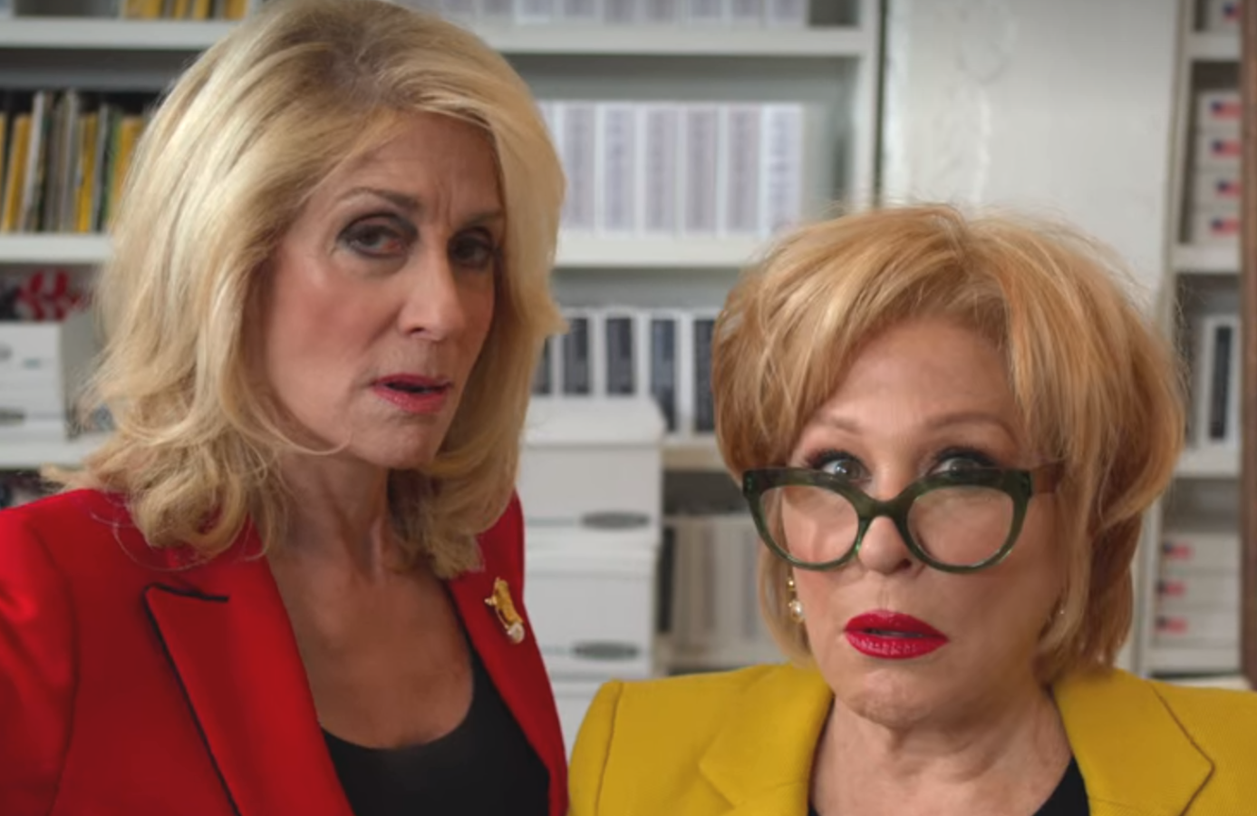 Judith Light and Bette Midler camp it up in the Season 1 finale of The Politician (Netflix)