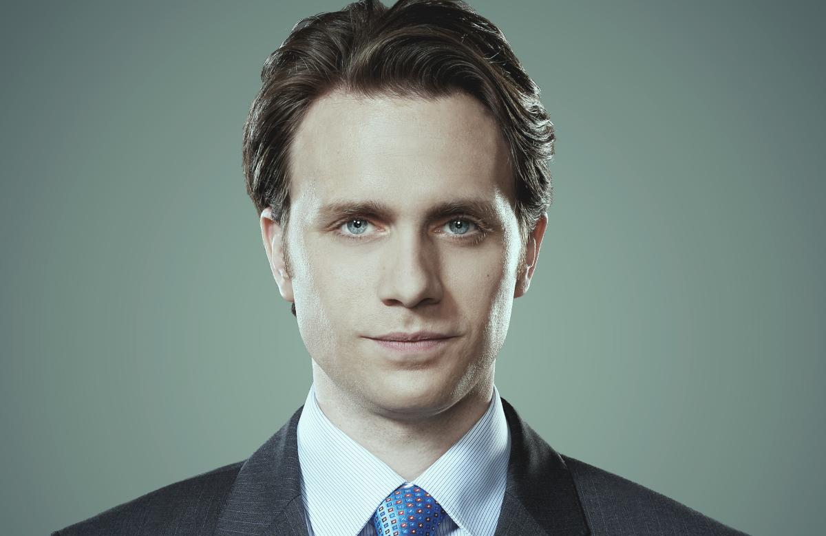 Martin Wallström stars as Tyrell Wellick in Mr Robot (USA)