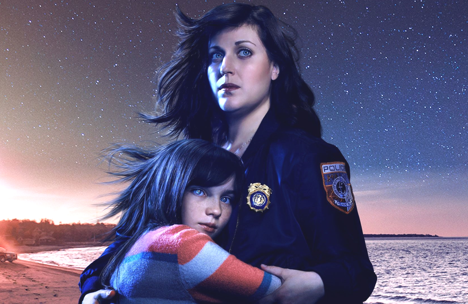 Alexa Swinton and Allison Tolman in a promotional image for Emergence (ABC)
