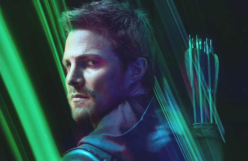 Stephen Amell in a promotional photo for Arrow (The CW)