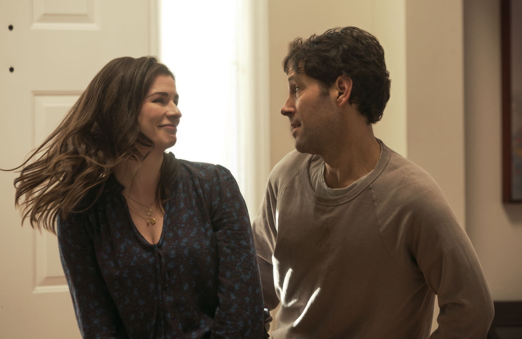 New Miles seems really into Kate (Ainsley Bea), unlike Old Miles. (Netflix photo)