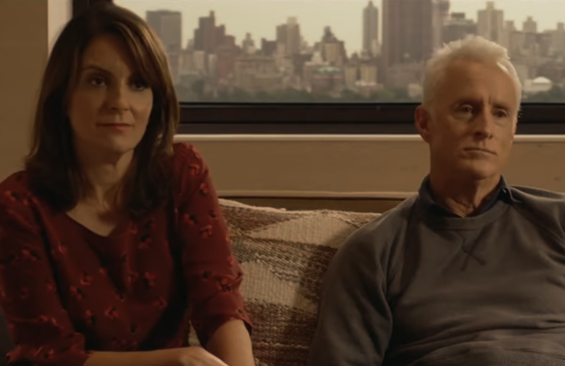 Tina Fey and John Slattery reenact the story of a modern couple in Modern Love. (Amazon)