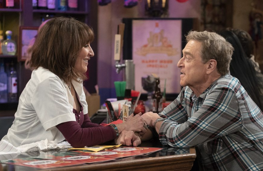 Louise (Katey Sagal) and Dan (John Goodman) in The Conners (ABC)