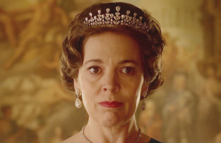 The new trailer for The Crown gave us our first extended look at Olivia Colman as Queen Elizabeth II. (Netflix)