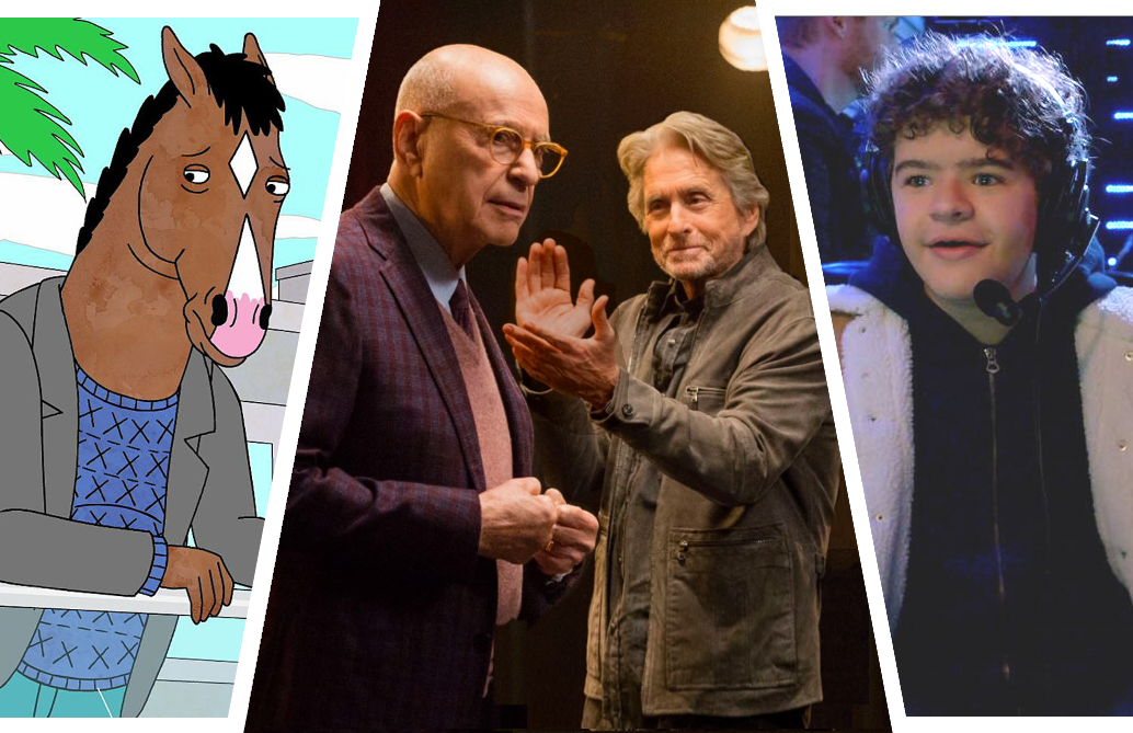 BoJack Horseman, The Kominsky Method Season 2 and Prank Encounters. (Netflix)