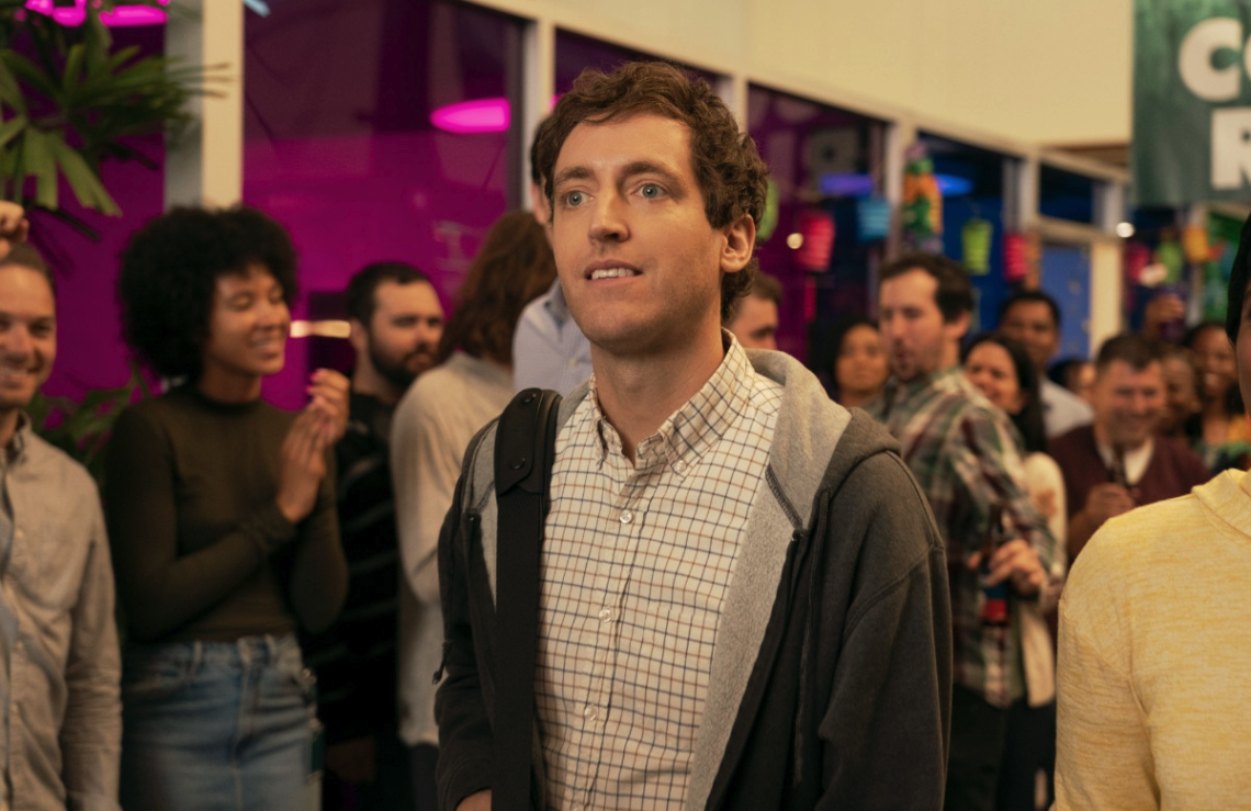 Richard (Thomas Middleditch) has 532 people working for him, but HBO's Silicon Valley still feels like a hacker house comedy. (HBO)