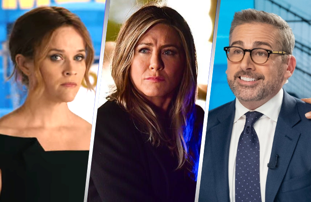 Reese Witherspoon, Jennifer Aniston and Steve Carell are just the tip of the iceberg when it comes to TV's newest all-star ensemble. (Apple TV+)