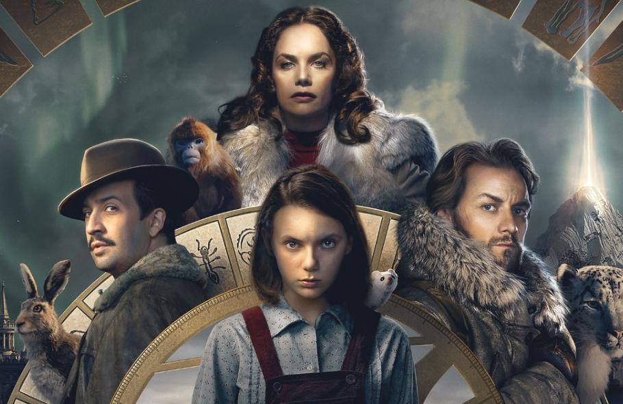 Lin-Manuel Miranda, Ruth Wilson, James McAvoy and Dafne Keen star in His Dark Materials (BBC/HBO)