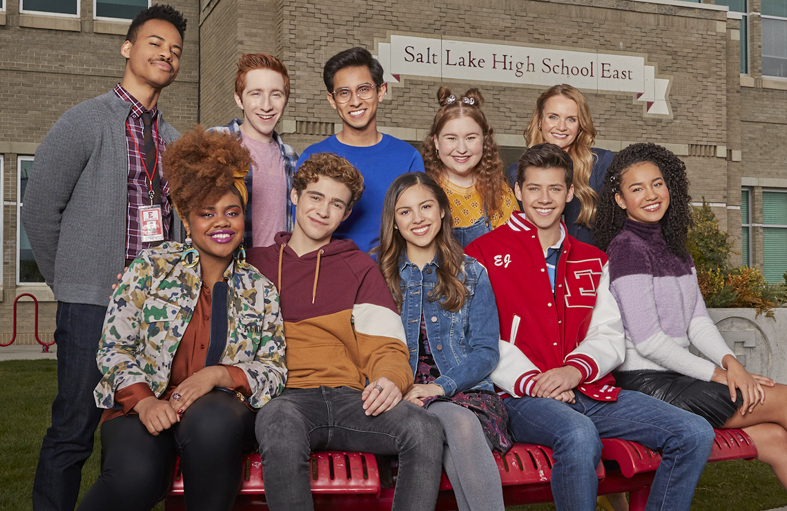 The cast of High School Musical: The Musical: The Series (Disney+)