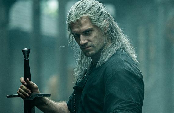 Henry Cavill dans The Witcher (Netflix)