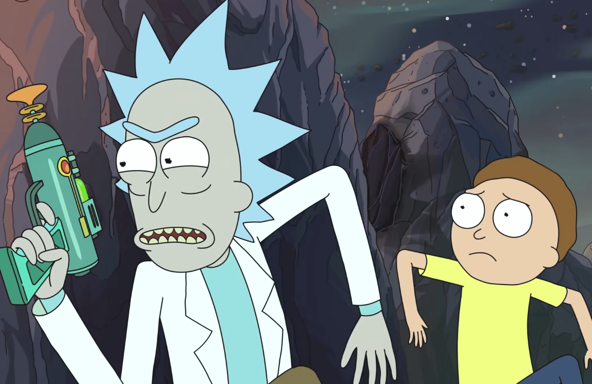 Rick and Morty are back from hiatus with five new episodes, beginning tonight. (Photo: Adult Swim)
