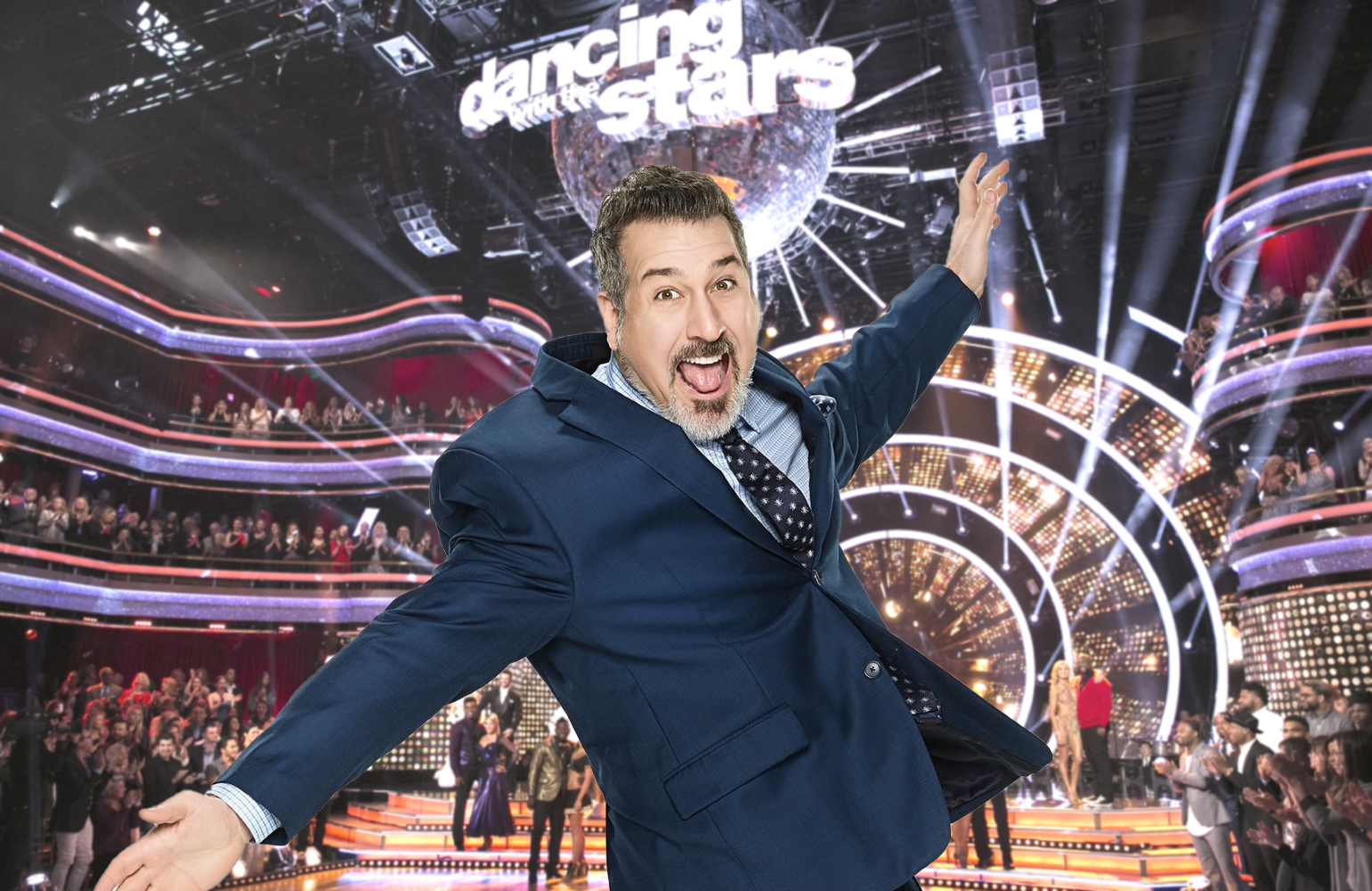 Dancing With the Stars vet Joey Fatone steps off the dance floor and on to the judging panel tonight.