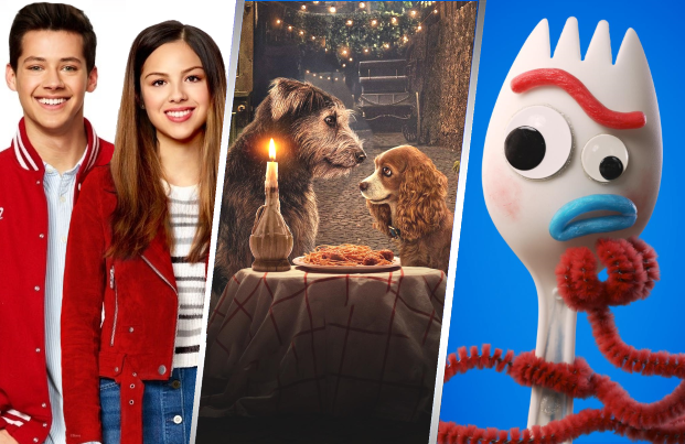 The Disney+ launch slate includes new projects drawn from familiar franchises, including High School Musical, Lady and the Tramp and Toy Story. (Disney+)