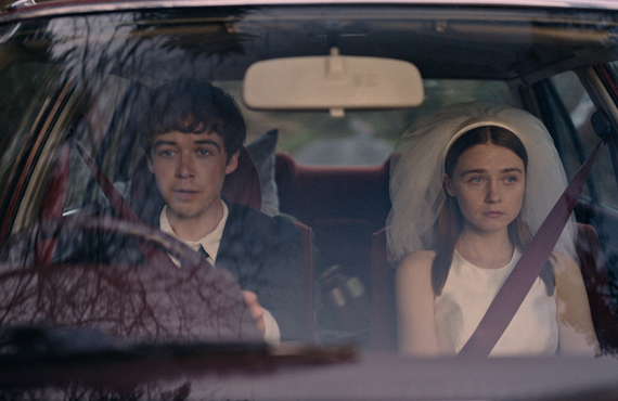Alex Lawther and Jessica Barden in The End of the F***ing World (Netflix)