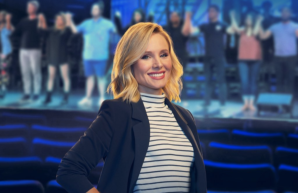 Kristen Bell hosts Encore! on Disney+.