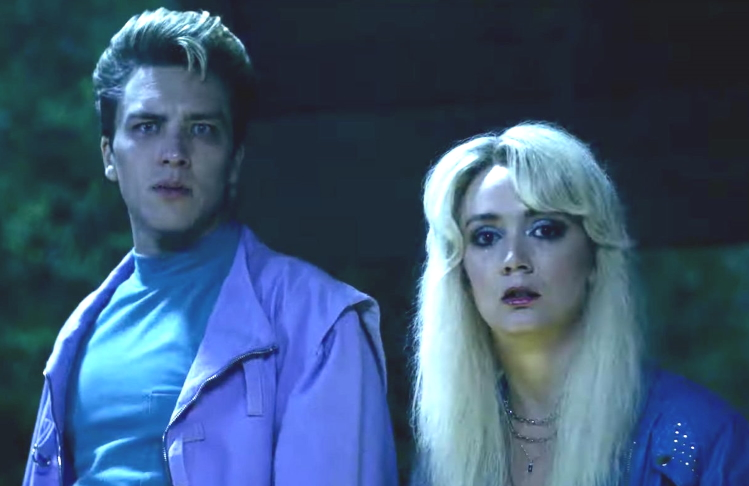 Cody Fern and Billie Lourd in American Horror Story: 1984 (FX)