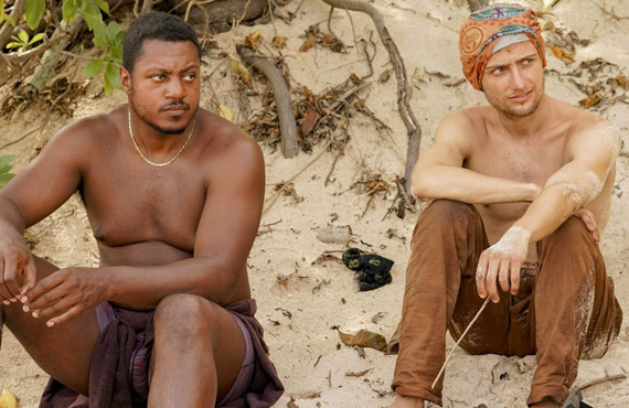 Jamal and Jack on Survivor (CBS)