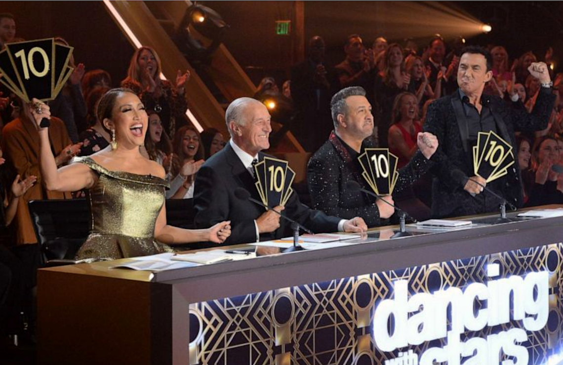 The judges have their say on Dancing With the Stars (ABC)