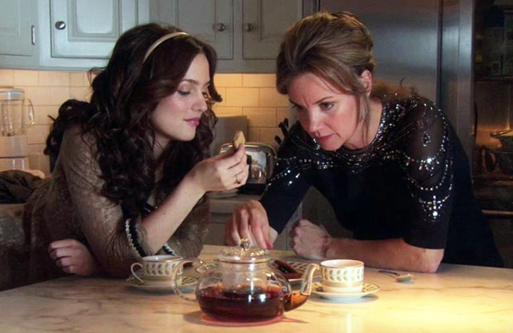 Leighton Meester and Margaret Colin in Gossip Girl (The CW)