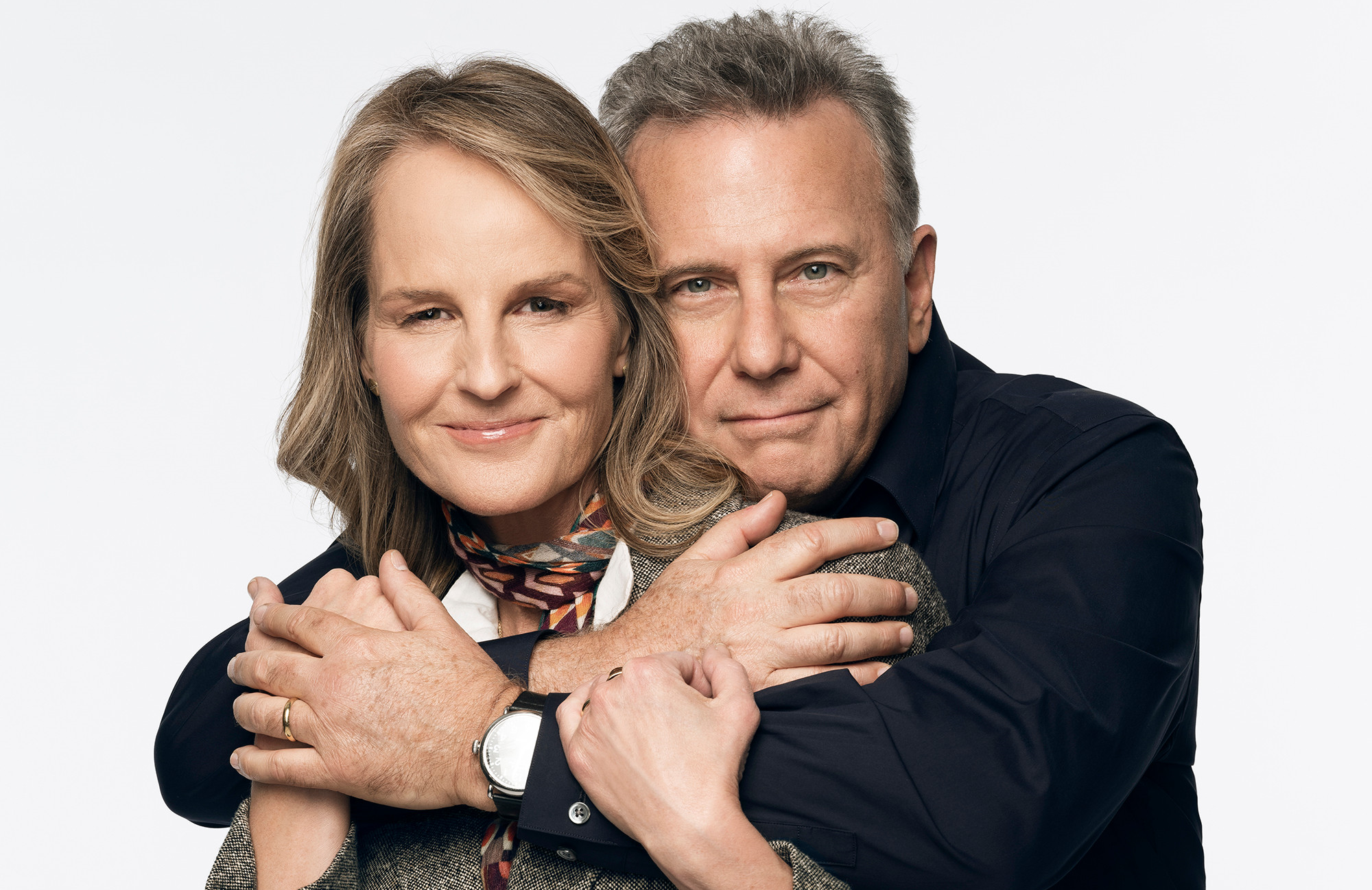 They're back... Helen Hunt and Paul Reiser in Mad About You. (Photo: Michael Becker/Sony Pictures Television)