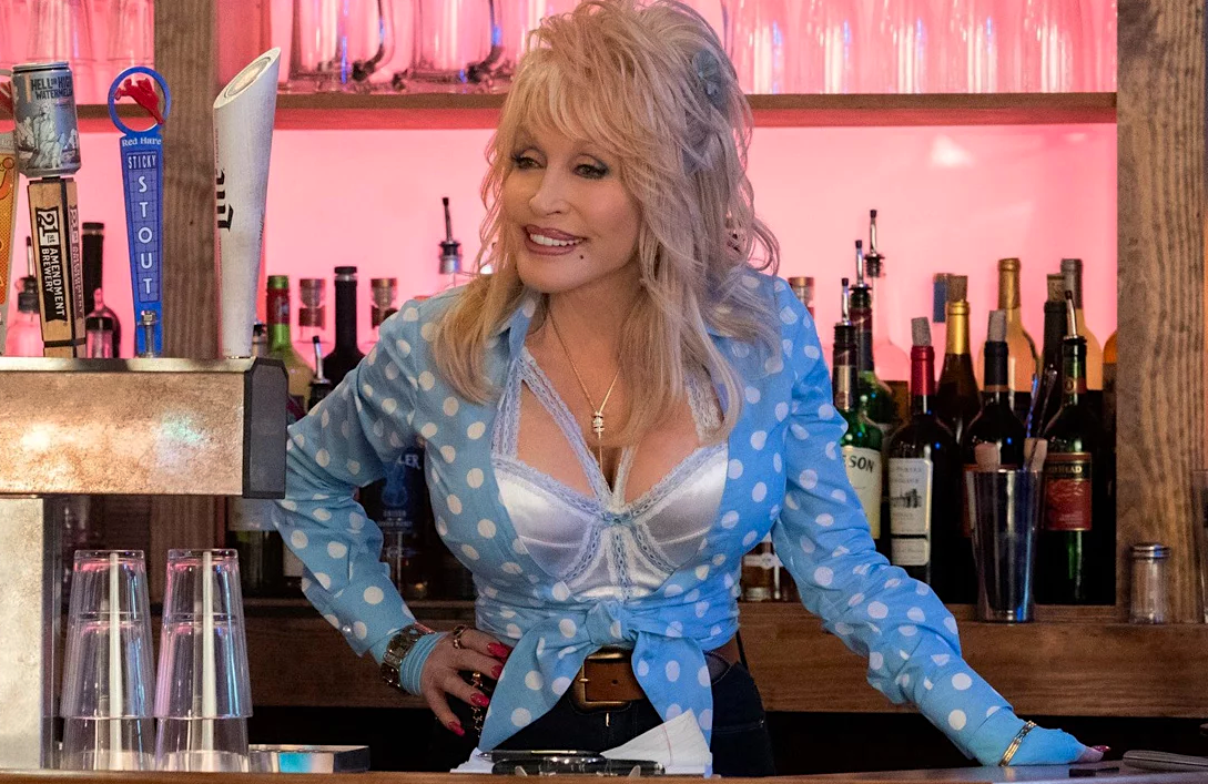 Dolly Parton in Dolly Parton's Heartstrings. (Netflix)