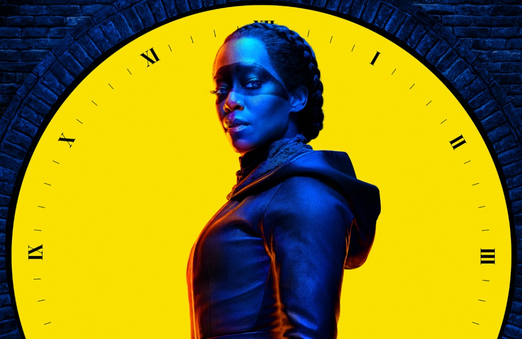 Regina King in a promotional image for Watchmen (HBO)
