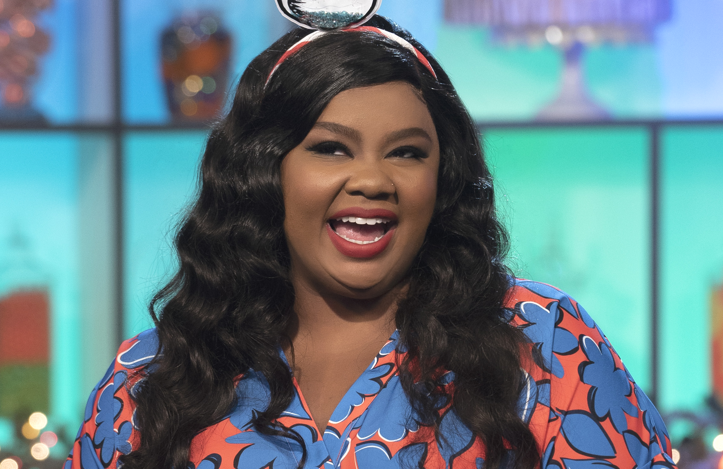 Nicole Byer hosts the second season of Nailed It! Holiday (Netflix)