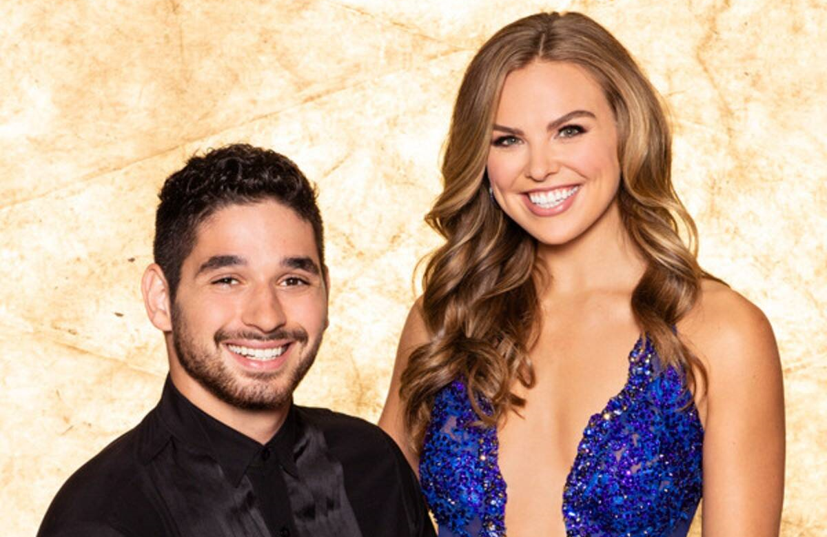 Alan Bersten and Hannah Brown are the oddsmakers pick to win Dancing With the Stars. (ABC)