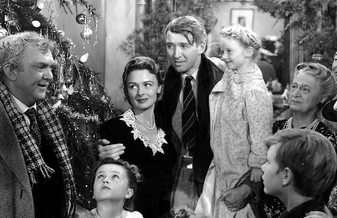 NBC will air the holiday classic It's a Wonderful Life in primetime twice this year.