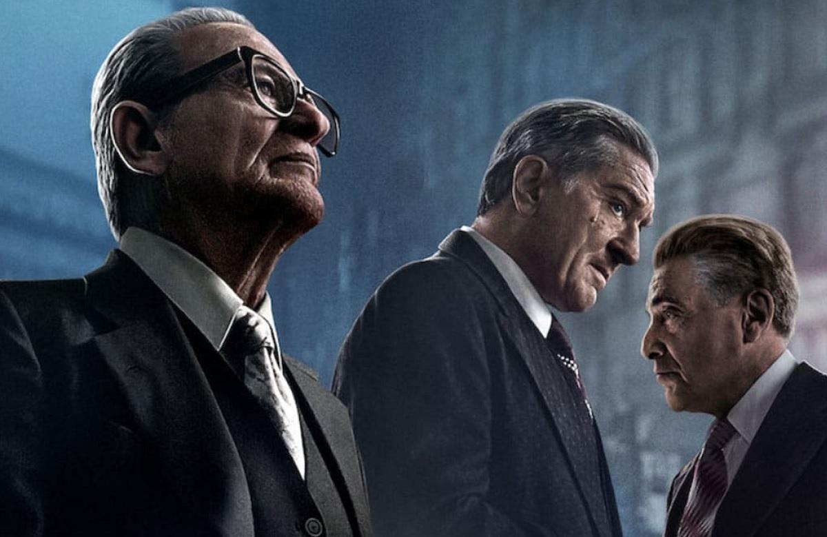 Joe Pesci, Robert De Niro and Al Pacino star in Martin Scorsese's The Irishman. (Netflix)