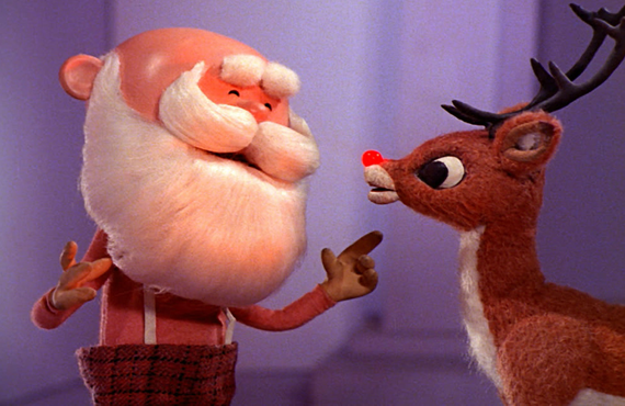 An image from Rudolph the Red-Nosed Reindeer (CBS)