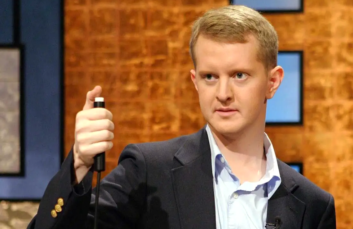 Ken Jennings on Jeopardy! (Sony Pictures Entertainment)