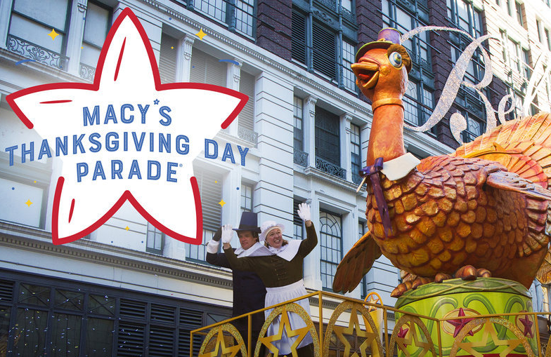 NBC's coverage of The Macy's Thanksgiving Day Parade kicks off at 9am. (Photo: NBC)