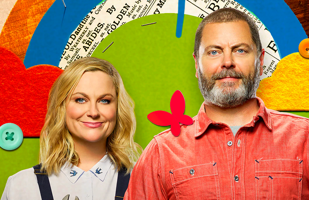 Amy Poehler and Nick Offerman return for Season 2 of Making It. (NBC)