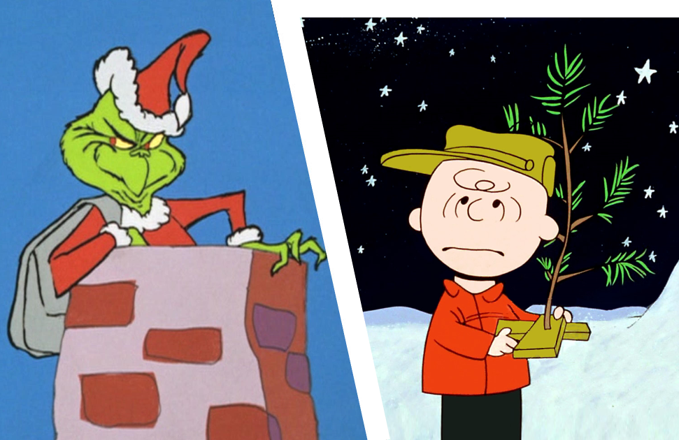 How the Grinch Stole Christmas (NBC) and A Charlie Brown Christmas (ABC)