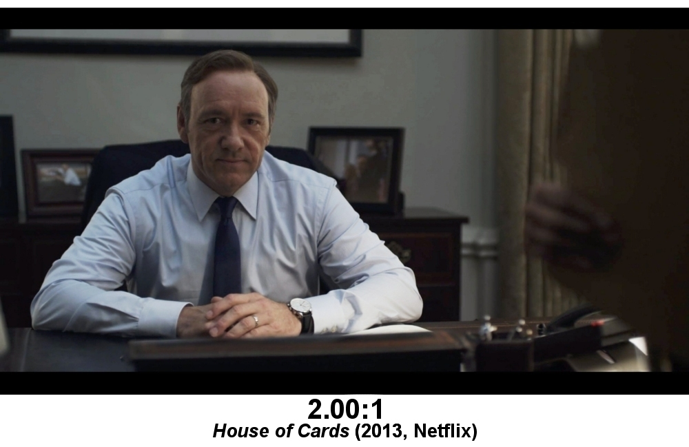 Apologies for dragging Kevin Spacey into this, but the show was a pretty significant milestone.