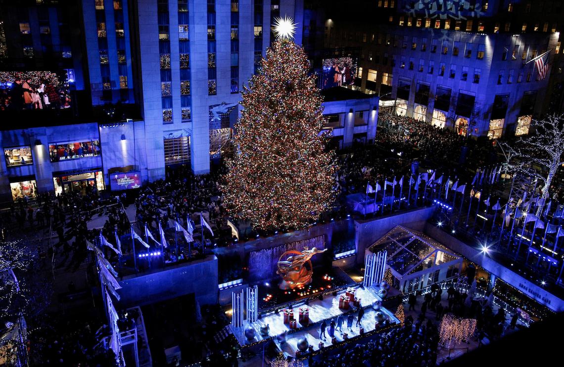 NBC celebrates the 87th annual Rockefeller Center Christmas Tree lighting in Christmas in Rockefeller Center. (Photo: NBC)